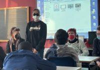 Lezione in aula con ASD Liberi e Forti e UICI Cremona